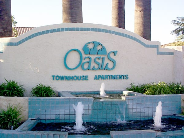 oasis_entrance_styrofoam_sign